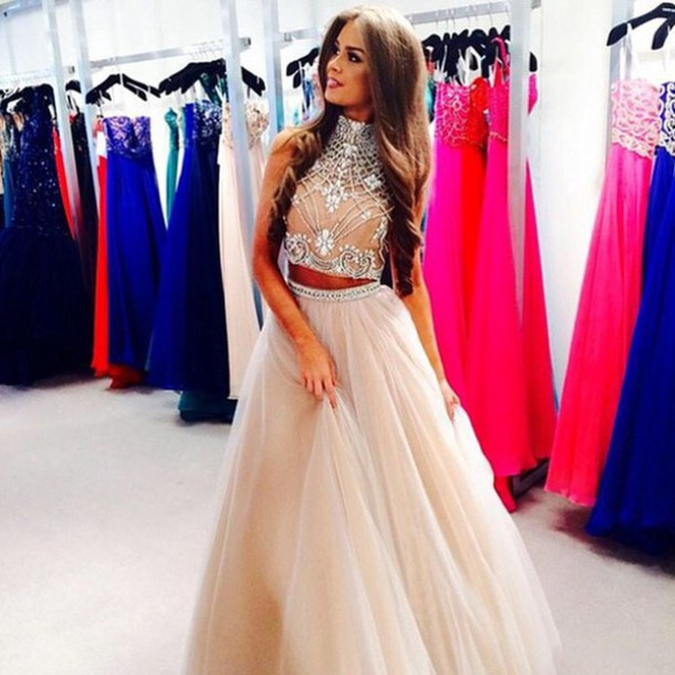 33c8f72ac27577 Two Piece Prom Dresses 2015