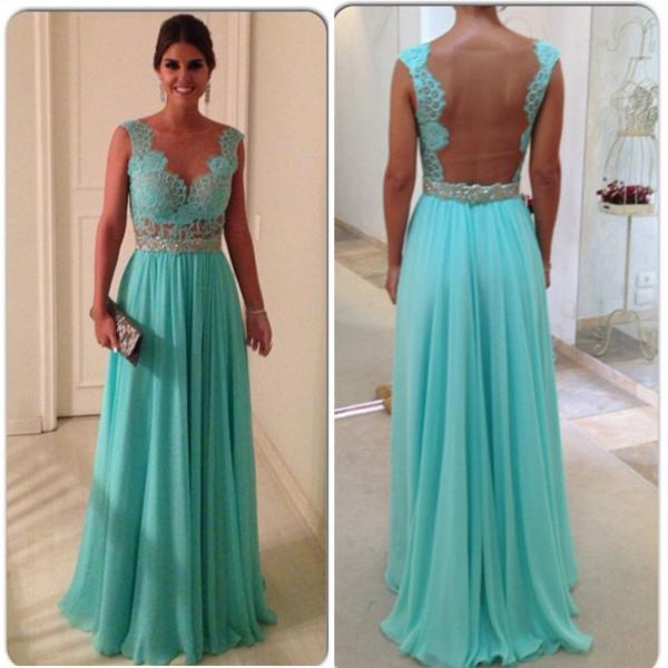 turquoise blue prom dress,cap sleeves prom dress,elegant bridesmaid dress,floor length evening gowns,